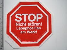 Aufkleber Sticker Labaphot Labachrome Fotopapier (M1889)