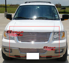 Fits 2003 2006 Ford Expedition Billet Grille Combo Upper Per