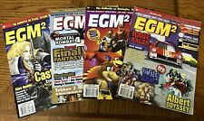 EGM2 Magazine 4 Issues June, August, September, and October 1997, Good Condition