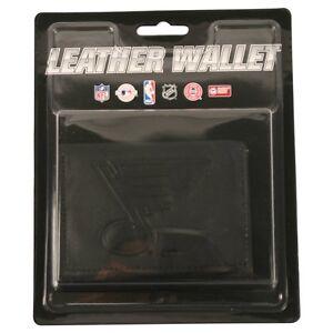 St. Louis Blues Black Tri-Fold Leather Wallet