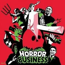 "HORROR BUSINESS OST 12"" RED & BLACK SPLIT VINYL W/ ARTPRINT RSD 2013 DEATH WALTZ"