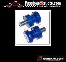 coppia Nottolini perni cavalletto per forchette moto blu rear stand mm 8