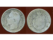 2 francs 1869 BB    NAPOLEON III   argent  silver