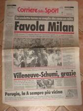CORRIERE DELLO SPORT MILAN CAMPIONE D'ITALIA 1995/96