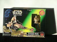 ** Star Wars POTF Speeder Bike w/ Luke Skywalker Endor MIB