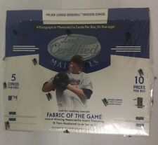2005 Leaf Certified Materials Factory Sealed Baseball Hobby Box HTF
