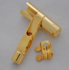Top Jazz Metal Alto 7# Gold plate Mouthpiece Eb Saxophone