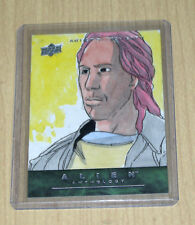 2016 Upper Deck Alien Anthology Sketch Card RUSTICO