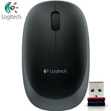Logitech NEW M165 Grey Wireless Optical Mouse Compact for PC Laptop MAC Linux
