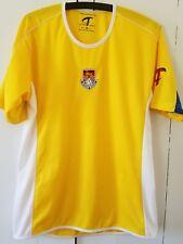 men's Small Challenger Teamwear yellow jersey - British soccer