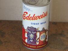 EDELWEISS.  LIGHT. BEER.  REAL BEAUTY. FAN TAB. BO. BY DREWRYS