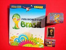 Panini komplett Satz WM 2014 + Softcover Album World CUP Brasilien 14 - alle 640