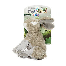 Gor Wild Rabbit Dog Toy | Realistic Looking Plush Medium Soft Cuddly Squeaky