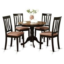 5 Piece Kitchen Table Set-Small Kitchen Table And 4 Kitchen Dining Chairs NEW