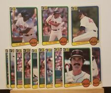 Pre-owned ~ 1983 Donruss Boston Red Sox Baseball Cards (Rice, Evans, Eckersley