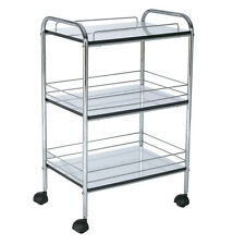Stainless Steel Trolley Storage Salon Supplies Beauty Room Hairdressing Sale