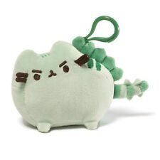 Gund New * Pusheenosaurus * Pusheen Cat Clip-On Backpack Plush Kitty Key Chain