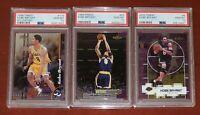1998 1999 2000 Topps Finest Kobe Bryant Lakers HOF PSA 10 GEM MT New Holder