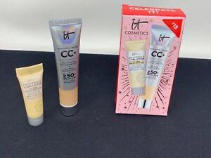 It Cosmetics Celebrate Confidence In Your Complexion Medium CC Cream Gel Lotion