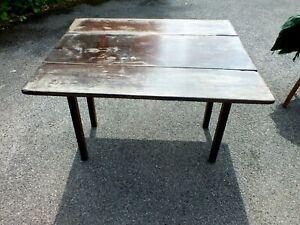 Interesting Heavy Mid 18th Century Mahogany Drop Flap Dining Table Circa 1740 af