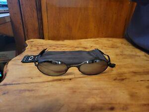 Vintage Oakley E Wire metal sunglasses