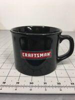 CRAFTSMAN Coffee Mug Black Large Ceramic Chili Soup Coffee Cup 16 Ounces