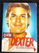 Dexter DVD 2nd season second 4 disc set 12 episodes SEALED