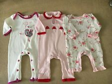 Powell Craft Train Baby Grow 0-6 6-12 and 12-18 Months