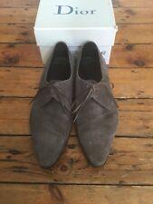 Dior Grey Suede Mens Shoes Hedi Slimane Size 42
