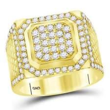 14 kt Yellow Gold  2 CT-DIA MEN RING