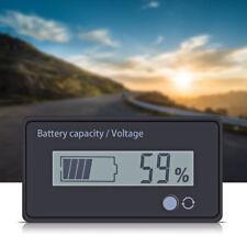 LCD Indicatore Batteria 12V Piombo Voltmetro 2 Modo Cifra E Percentuale Tester