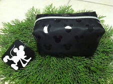 Mickey Mouse Disney Target Black Foil Origami Cosmetic Makeup Bag