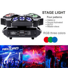 90W 9 Leds Rgb Beam Spider Moving Head Stage Lighting Led Dmx512 Dj Disco Light