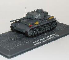 Altaya Tank Panzer IV Pz.Kpfw. Ausf. G 1/72 Sofonovo 1942