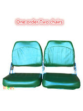 NEW Fishing boat Seats Folding Clearance Sale One order Two chairs (Low back)