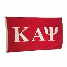 Kappa Alpha Psi Letter Flag 3' x 5' - Licensed Product