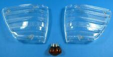 Front Blinker weiß für Mercedes SL/SLC W107 R107 inkl. orangener Glühlampen