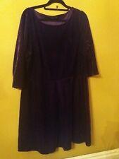 Womens  velvet dress size 18