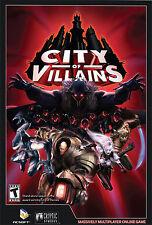 Videogame City of Villains PC