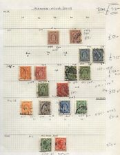 1875- DENMARK OFFICIAL STAMPS Mint & Used Collection Cat £312-