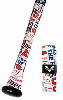 VULCAN ADVANCED POLYMER BAT GRIPS - ULTRALIGHT 0.50 MM - TEAM USA