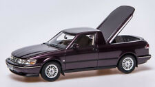 "rare modelcar SAAB 900 PICK-UP ""SAABIANTI-EDITION I"" - amethystviolet - 1/43"