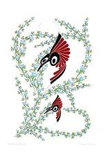 Hummingbirds Danny Dennis Art Card Tsimshian Northwest Coast Native