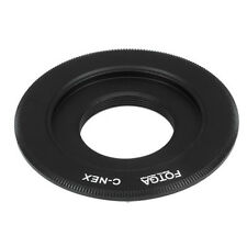 FOTGA Adapter Ring for C-Mount Lens to DLSR Camera Sony E Mount NEX3 NEX5 NEX7