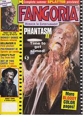 Fangoria horror in Entertainment luglio 1988 poltergeist III Hellraiser II Chucky