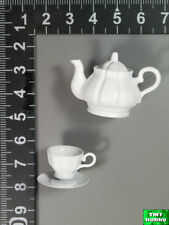 1:6 Scale DID WWII German General Drud D80123 - Coffee Pot w/ Cup & Saucer