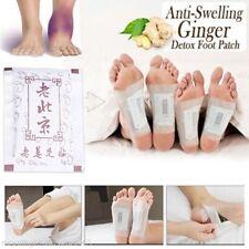 10X Premium Ginger Detox Foot Patches Organic Chinese Herbal Cleansing Detox Pad