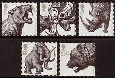 GREAT BRITAIN 2006 ICE AGE ANIMALS UNMOUNTED MINT, MNH