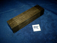 Mooreiche subfossil  Messergriff    150 x 40 x 30 mm  Nr. 992