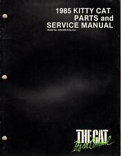 1985 Arctic Cat Kitty Cat Parts & Service Manual p/n 2254-312 (243)